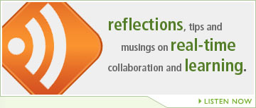 Reflections, tips and musings on real-time collaboration and learning.